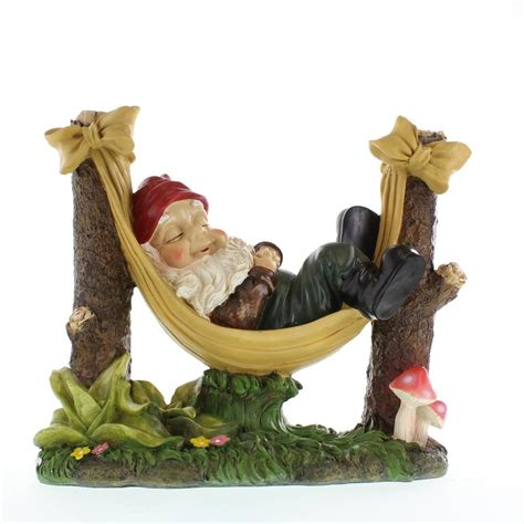 Garden Gnome Statues by Slumbering Gnome Garden Statue Wholesale At Koehler Home Decor