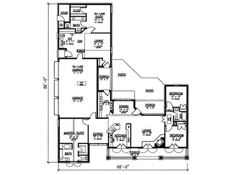 Multi Generational Home Floor Plans | multi generational floor plan the home multigenerational