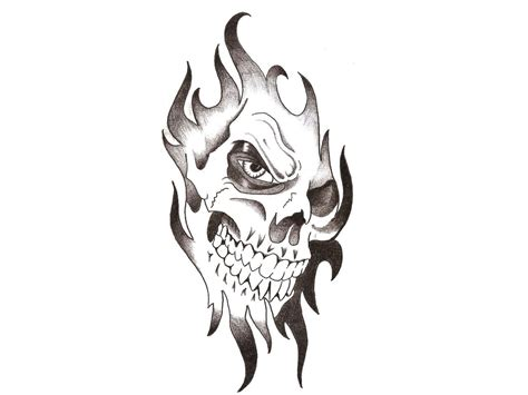 skull with flames tattoo designs skull designs wallpaperxy tattoodesigns