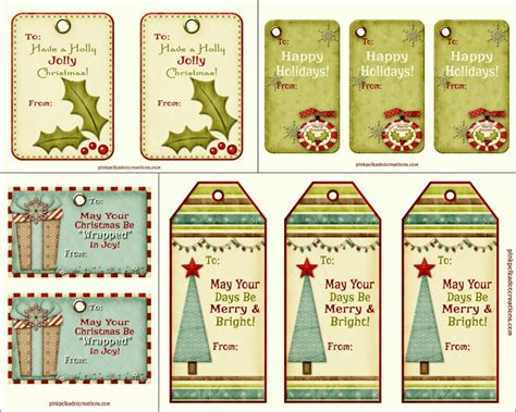free printable christmas tags that you can type on free printable christmas tags pink polka dot creations