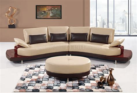 Global Upholstery Canada by Ua131 Sectional Sofa In Bonded Leather By Global Furniture Usa