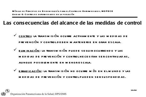 cadena epidemiologica mopece taller modular mopece