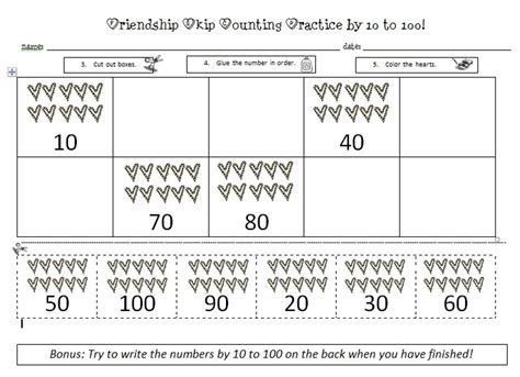 Counting By 10 S Worksheets by 17 Images About Teaching Skip Counting On
