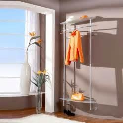 garderobe glas edelstahl wandgarderobe glas edelstahl im schlafzimmer wandmontage