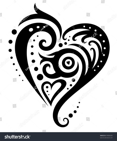 Decorative Hearts by Decorative Clipart Www Imgkid The Image Kid