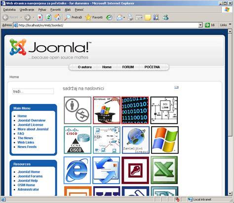 tutorial joomla xp kako instalirati joomla template predložak pc