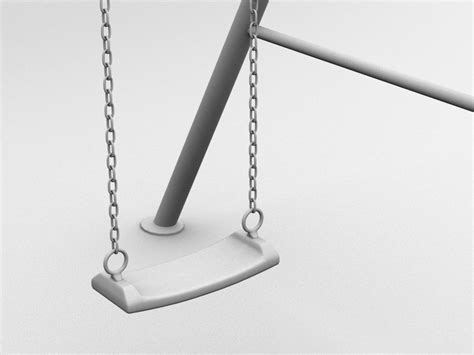 swing 3d swing a 3d model animated cgtrader com