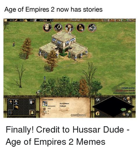 Age Of Empire Meme - age of empires 2 now has stories town center byzantines