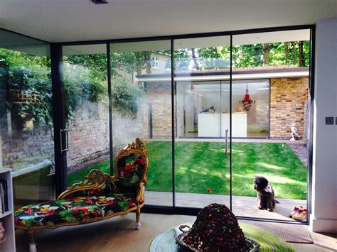 Slimline Patio Doors Frameless Sliding Patio Door System Slimline Glazing Aluminium Systems Reno Design