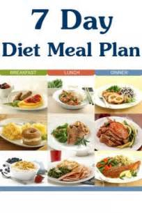 7 day diet meal plan for android by health club appszoom