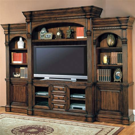 parker house 5 pc parker house estate genoa 66 quot tv entertainment center