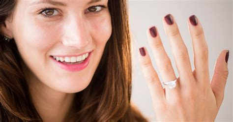 Showing Engagement Ring by Are Being Told To Ditch Their Engagement Rings For