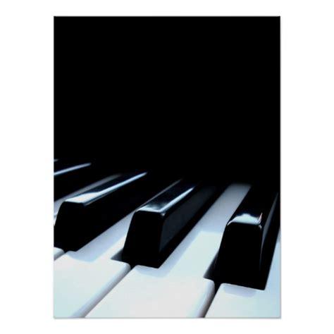 White Black Kets black white piano poster zazzle