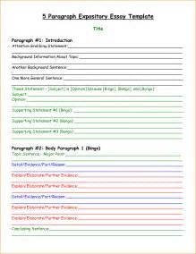 4 Paragraph Essay Template by 5 Paragraph Essay Outline Graphic Organizer