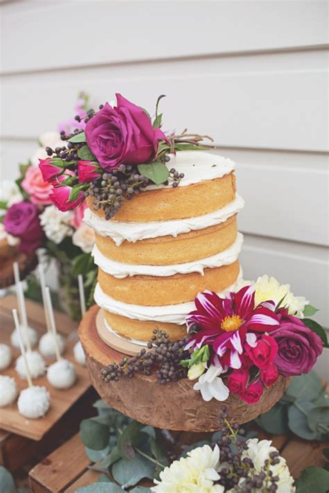 Rustic Bridal Shower Cakes by Kara S Ideas Rustic Bridal Shower Planning