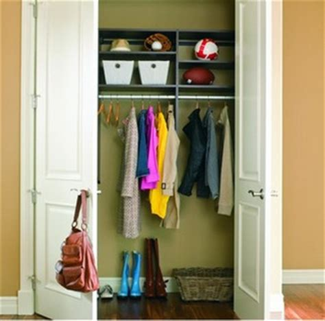 Coat Closet Depth take advantage of vertical space and depth for efficient