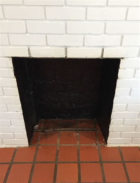 clean fireplace how to clean a fireplace firebox friday five the diy bungalow