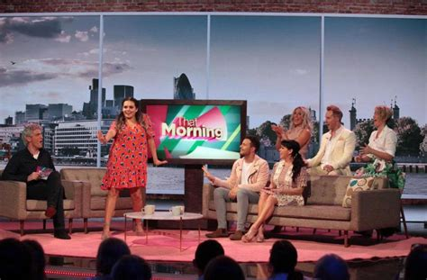 Premier Episode Of Here Come The With Hosts Naylor And Holli Ehrlich by New C4 Show Host The Week Starring I M A Winner