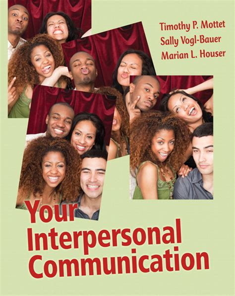 interpersonal communication book the books a la carte plus mycommunicationlab coursecompass 11th edition ebook mottet vogl bauer houser your interpersonal