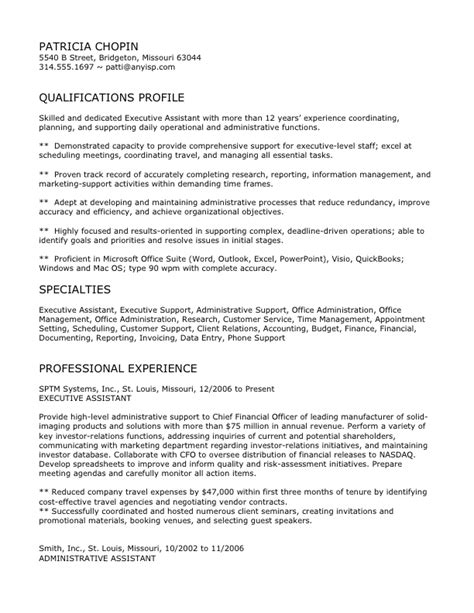 exle resume cv exle