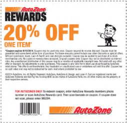 Car Cover Zone Discount Code Free Printable Autozone Coupon September 2017