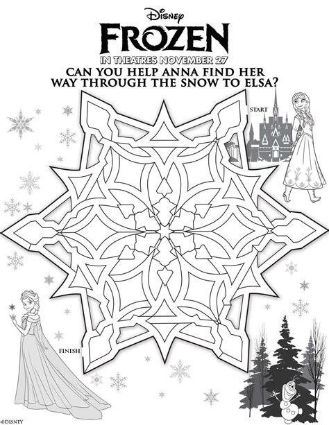 coloring pages games frozen disney s frozen printable activities and games for kids
