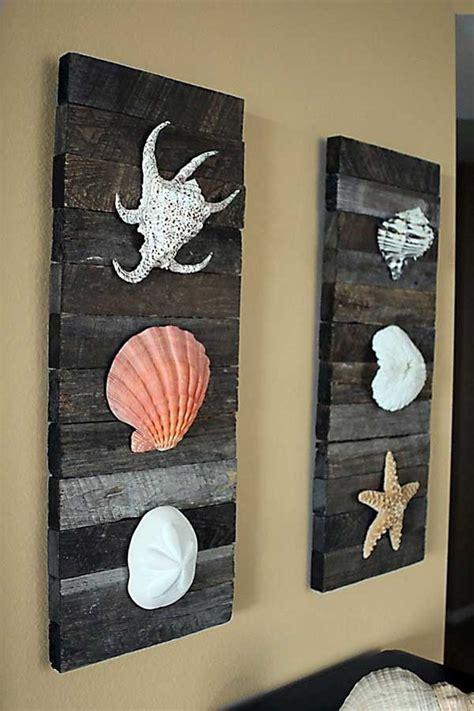 beachy wall decor 36 breezy inspired diy home decorating ideas