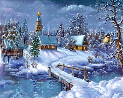google images christmas scenes fonds d 233 cran no 235 l paysages