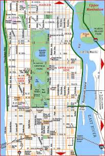 map of manhattan ny road map of manhattan manhattan new york aaccessmaps