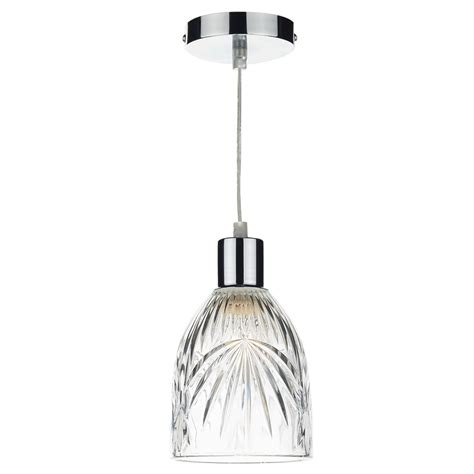 Easy Fit Pendant Lights Dar Mot6508 Motif Easy Fit Pendant Shade In Decorative Glass