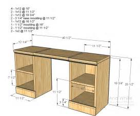Makeup Vanity Plans Do It Yourself White Play Vanity Diy Projects