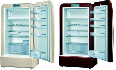 Cool Wall Shelves retro refrigerator bosch brings color to the kitchen