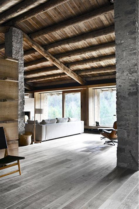 wood clad interior ideas  warm    winter digsdigs