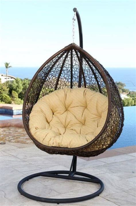 single person swing 72 comfy backyard furniture ideas