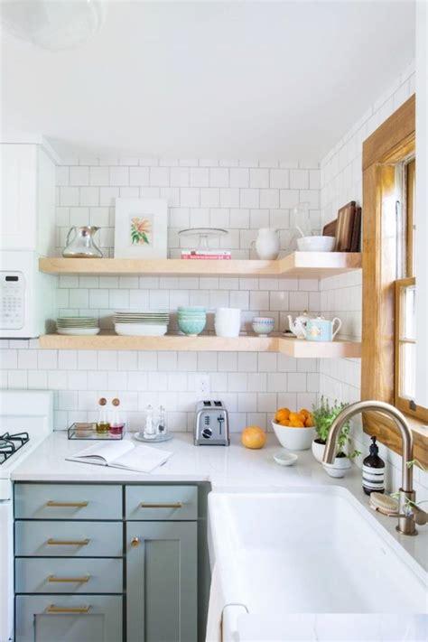 kitchens with shelves green best 25 mint green kitchen ideas on pinterest mint