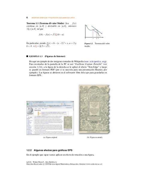 insertar imagenes latex insertar figurasgraficos en latex
