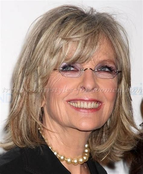 bob hairstyles in your 50s medium hairstyles over 50 diane keaton shoulder length