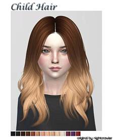 sims 4 children hair sims 4 cc s the best hair for child by shojoangel