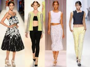 Crop tops from spring 2014 trends from new york fashion week e news