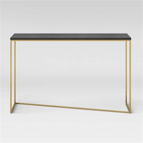 black sofa table target sollerod console table brass and black project 62 target