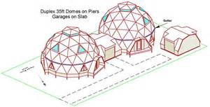 geodesic home plans kwickset konstruction kits geodesic dome home floor plans
