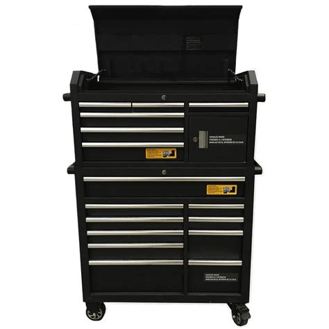 best deals on tool cabinets black edition tool chest and roll cabinet combo deal