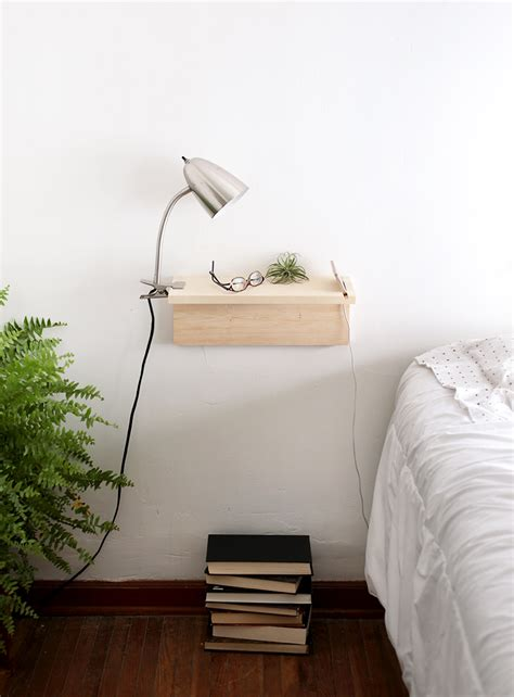 Diy Floating Shelf Nightstand by Diy Floating Nightstand The Merrythought