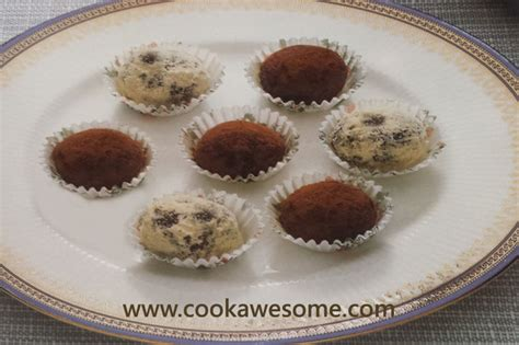 Handmade Chocolate Truffles Recipe - chocolate truffles recipe cookawesome