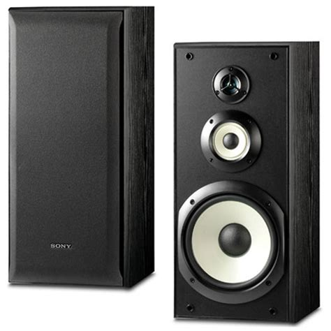 sony ss b3000 3 way bookshelf speakers ss b3000 b h photo