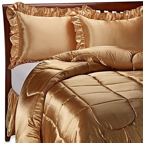 gold satin comforter set charmeuse gold satin comforter set bed bath beyond