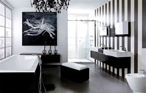 and black bathroom ideas 10 chic black and white bathroom ideas