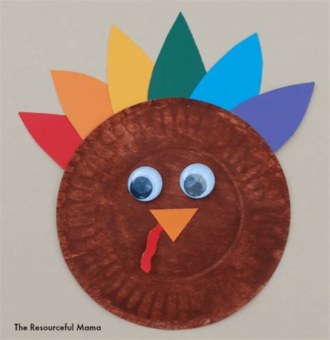 Easy Thanksgiving Paper Crafts - 25 easy thanksgiving crafts for socal field trips
