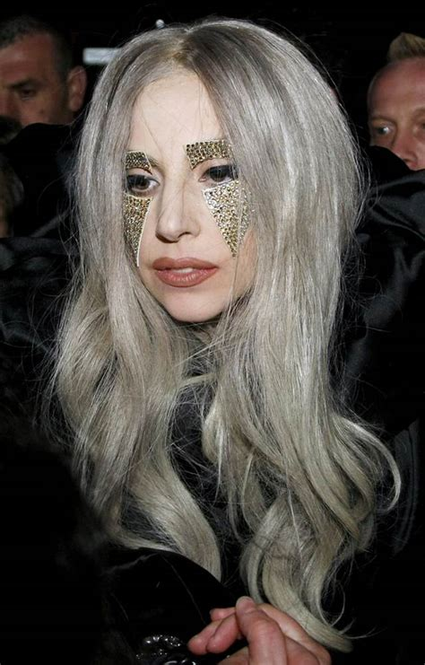 ladyphenom gray hair lady gaga hairstyles as you aspect 14
