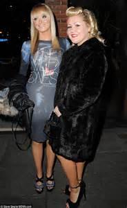 katie mcglynn julie hesmondalghs corrie leaving party digital spy catherine tyldesley smoulders in busty purple gown whilst